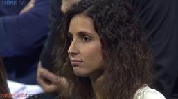 Rafael Nadal girlfriend Maria Francisco Perello in Doha Qatar Open 2016