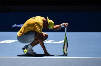 Spanish player Rafael Nadal during a practice session, prior the Australian Open Grand Slam tennis tournament at Melbourne Park, in Melbourne, Australia, 16 January 2016. The Australian Open tennis tournament runs from 18 to 31 January 2016. (Tenis) EFE/EPA/FILIP SINGER