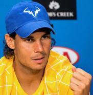 Rafael Nadal press conference interview Australian Open 2016