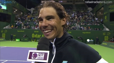 Rafael Nadal Reaches Quarterfinals In Doha