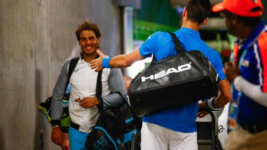 Image result for Novak Rafa pics