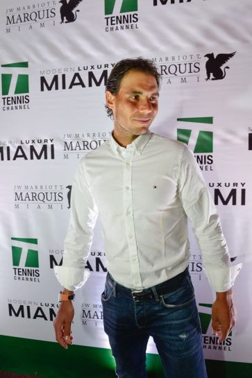 Rafael Nadal Attends 2016 Miami Open Player Party