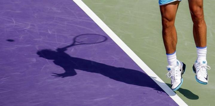 Rafael Nadal retires in third set at Miami Open against Damir Dzumhur (3)