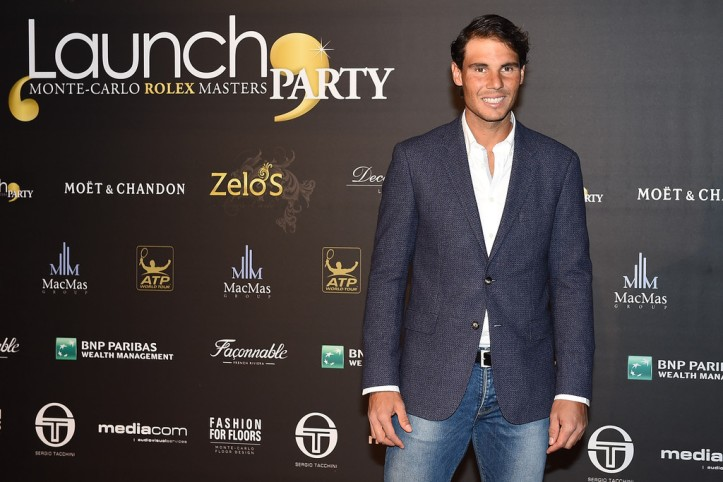 Rafael Nadal of Spain attends the .Launch Party at Zelo's Monaco during preview day of the ATP Monte Carlo Masters, at the Monte-Carlo Country Club on April 9, 2016 in Monte-Carlo, Monaco. (April 8, 2016 - Source: Valerio Pennicino/Getty Images Europe)