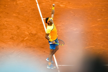 xxx during day two of the Barcelona Open Banc Sabadell at the Real Club de Tenis Barcelona on April 23, 2016 in Barcelona, Spain.