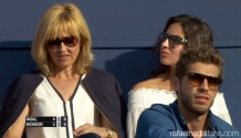 Rafael Nadal girlfriend Maria Francisca Perello and mother Ana at Barcelona Open final 2016