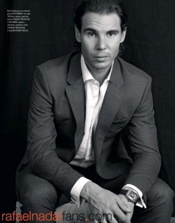 Rafael Nadal Graces The Pages Of El Pais Icon