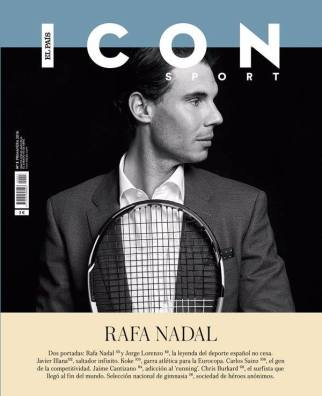 Rafael Nadal covers Icon El Pais (April 30, 2016)