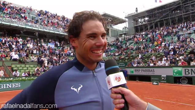 INTERVIEW Rafael Nadal into third round at French Open after comfortable win over Facundo Bagnis