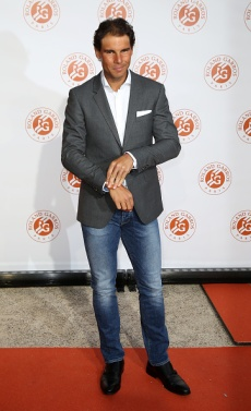 PARIS, FRANCE - MAY 19: Rafael Nadal of Spain attends the 2016 French Open Players' Party held at the Petit Palais on May 19, 2016 in Paris, France. (Photo by Jean Catuffe/Getty Images)
