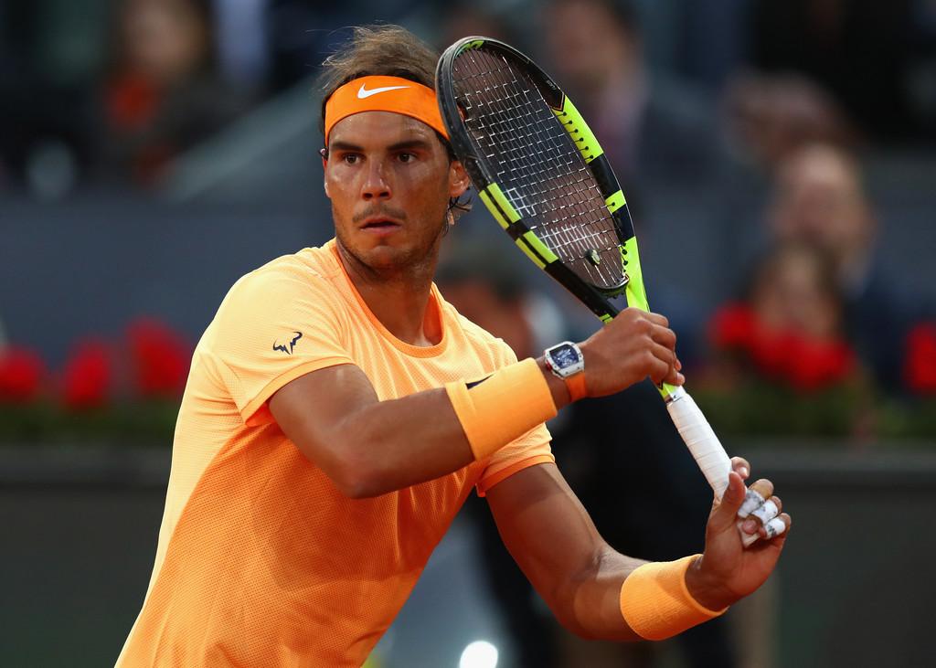 Nadal: Rafael Nadal Passes Sam Querrey Test In Madrid