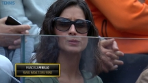 Rafael Nadal girlfriend Maria Francisca Perello at Rome Masters QF 2016