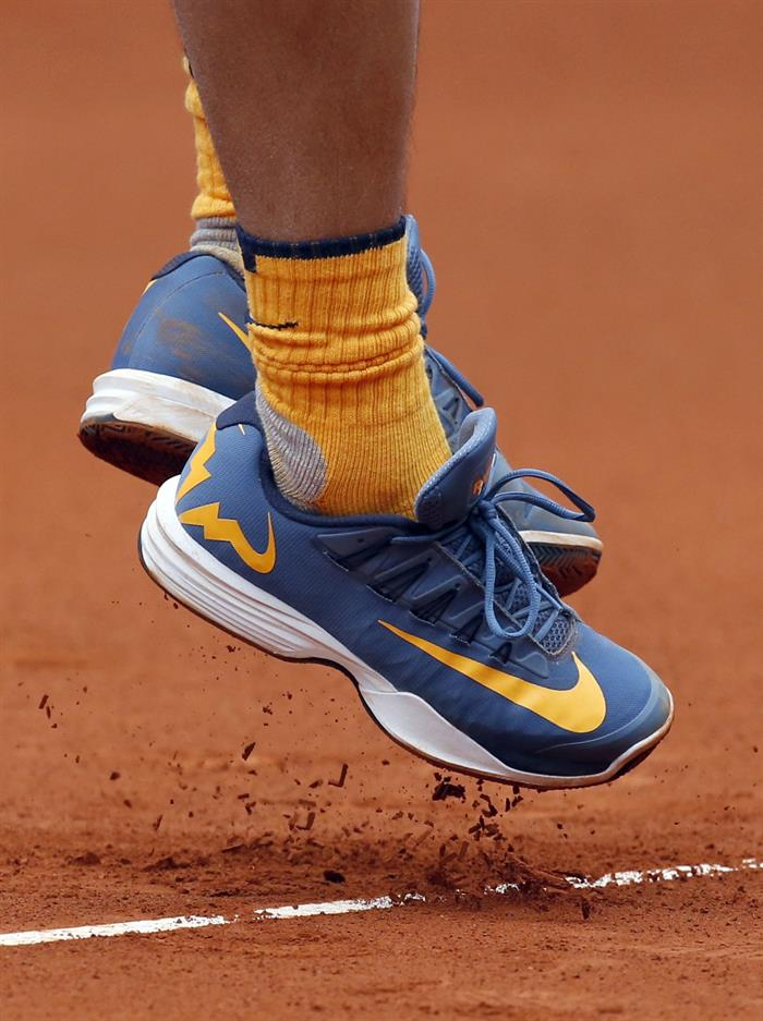 Rafael Nadal Nike clay shoes Madrid Open 2016 – Rafael Nadal Fans 378d1b757c1