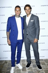 PARIS, FRANCE - MAY 18: (L-R) Gregory van der Wiel and Rafael Nadal attend the Tommy X Nadal party hosted by Tommy Hilfigeron May 18, 2016 in Paris, France. (Photo by Rindoff Petroff/Hekimian/Getty Images for Tommy Hilfiger)