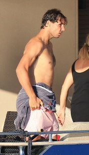 Rafael Nadal continues recovery from wrist injury on holiday with girlfriend Maria Francisca Perello (11)