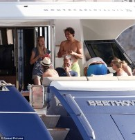 Rafael Nadal continues recovery from wrist injury on holiday with girlfriend Maria Francisca Perello (14)