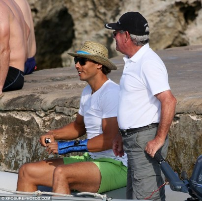 Rafael Nadal is with his girlfriend on holiday after pulling out of French Open (1)