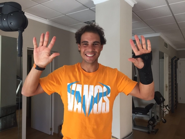 Rafael Nadal Twitter: Rafael Nadal Thanks His Fans After Reaching 10 Million