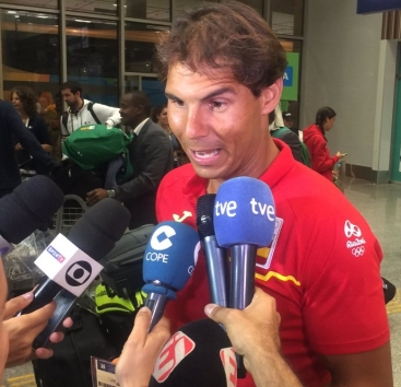 Rafael Nadal Rafael-nadal-arrives-in-rio-ahead-of-olympics-games