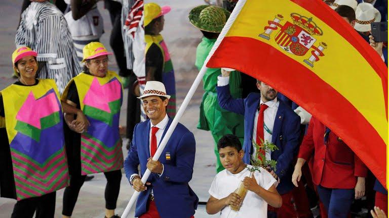Argentina Flag Bearer Rio 2016