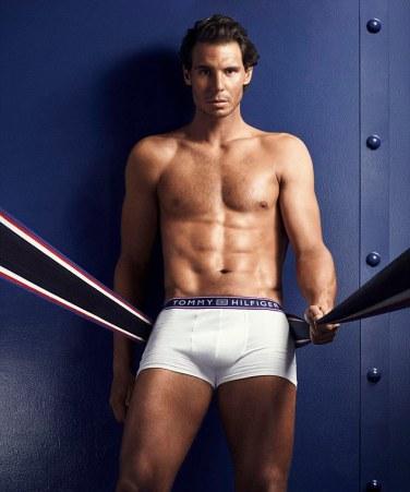 Rafael Nadal shows off his insane body in Tommy Hilfiger underwear