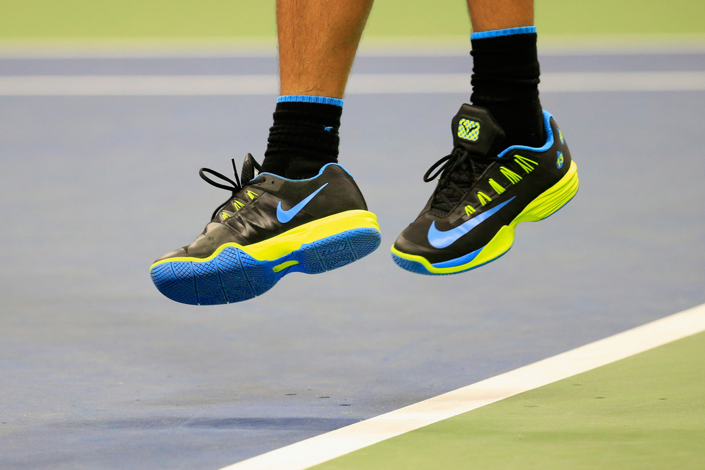 Rafael Nadal Nike shoes for night matches for US Open 2016