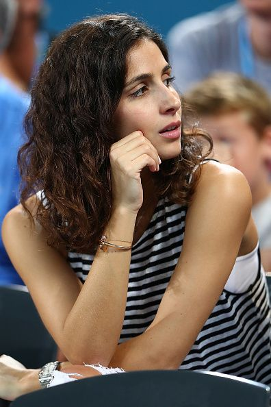 Maria Francisca Perello on day three of the 2017 Brisbane International at Pat Rafter Arena on January 3, 2017 in Brisbane, Australia.
