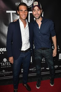 Rafael Nadal and Enrique Iglesias celebrate opening of Tatel Miami (8)