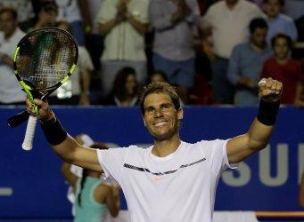 Tennis - Mexican Open - Men's Singles - Semi-Final - Acapulco, Mexico- 03/03/17. Spain's Rafael Nadal celebrates his victory against Croatia's Marin Cilic. REUTERS/Henry Romero
