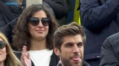 Rafael Nadal girlfriend Maria Francisca Perello Barcelona Open final 2017