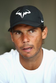 Rafael Nadal of Spain talks to the media during a press conference on day one of the Monte Carlo Rolex Masters at Monte-Carlo Sporting Club on April 16, 2017 in Monte-Carlo, Monaco. (April 15, 2017 - Source: Clive Brunskill/Getty Images Europe)