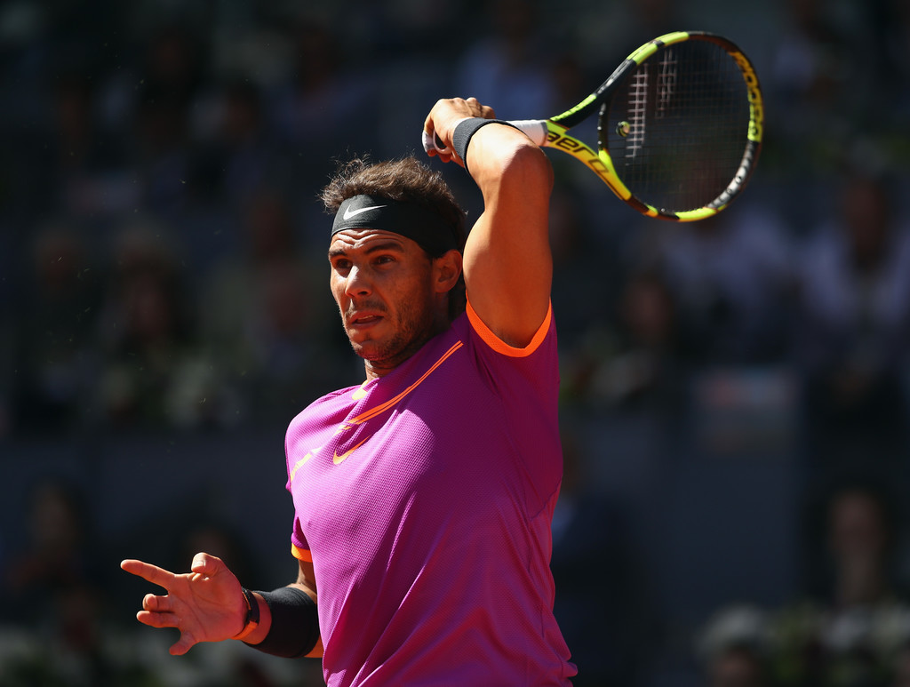 Photos  Rafael Nadal Beats Novak Djokovic To Reach Madrid
