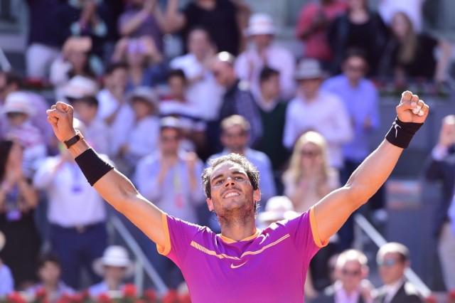 Rafael Nadal beat Dominic Thiem to win Madrid title