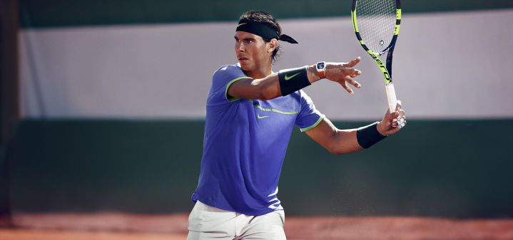 bb0bf7cb9f2 PHOTOS  Rafael Nadal s Outfit for the French Open 2017 – Rafael ...