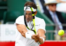 Tennis - Aspall Tennis Classic - London, Britain - June 30, 2017 Spain's Rafael Nadal in action during his match against Germany's Tommy Haas Action Images via Reuters/Peter Cziborra