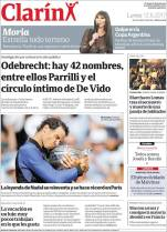 Rafael Nadal covers Clarin