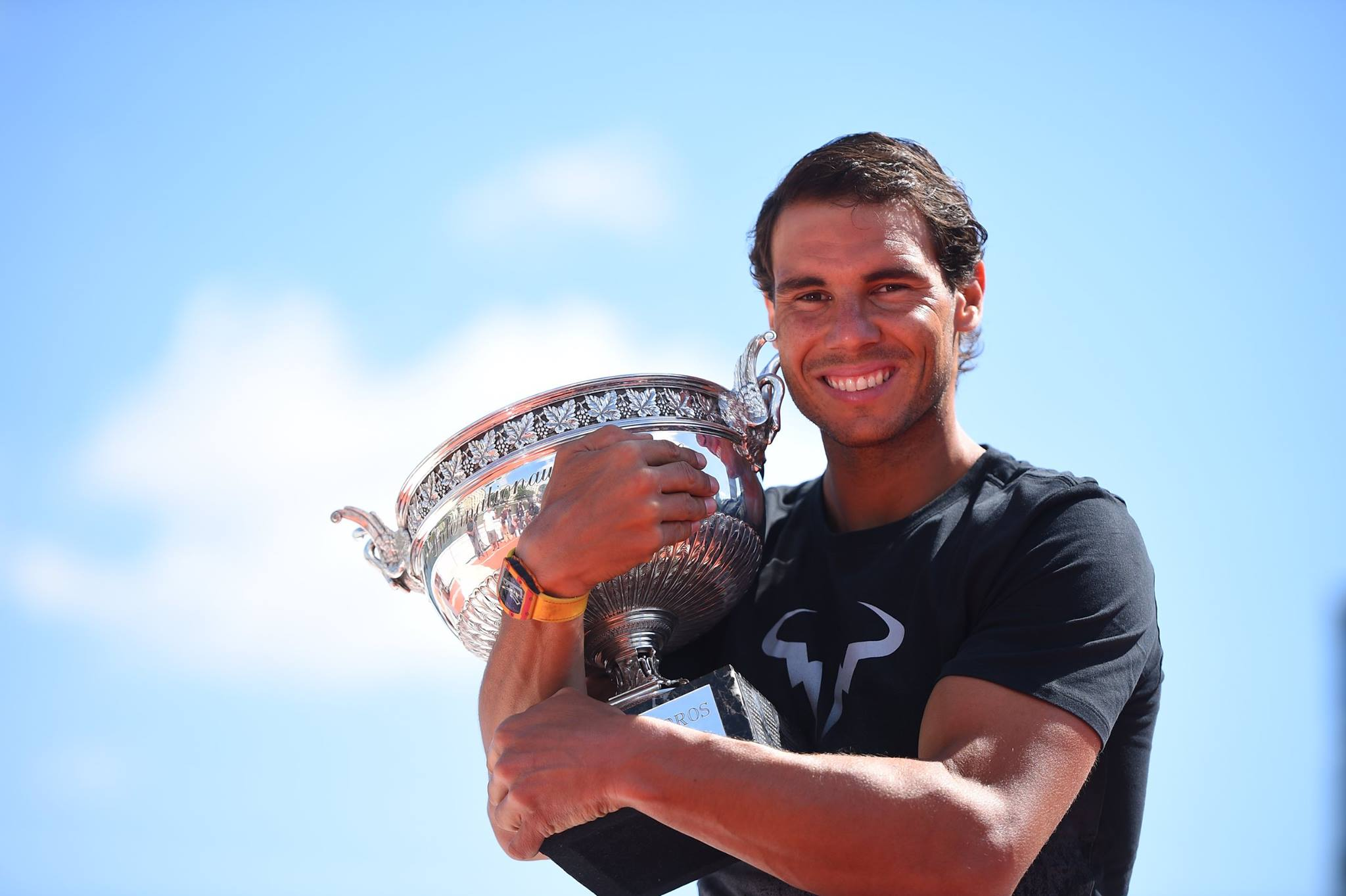 PHOTOS: Rafael Nadal's Roland Garros trophy shoot – Rafael ...
