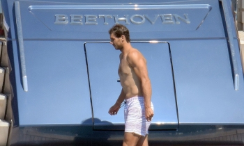 Rafael Nadal short holiday on yacht in Spain (2)