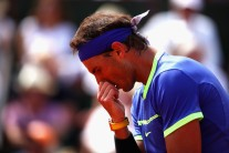 Rafael Nadal of Spain looks on during the mens singles final match against Stan Wawrinka of Switzerland on day fifteen of the 2017 French Open at Roland Garros on June 11, 2017 in Paris, France. (June 10, 2017 - Source: Clive Brunskill/Getty Images Europe)