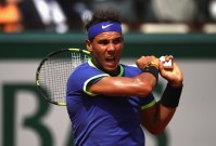 Rafael Nadal of Spain in action during the mens singles final match against Stan Wawrinka of Switzerland on day fifteen of the 2017 French Open at Roland Garros on June 11, 2017 in Paris, France. (June 10, 2017 - Source: Julian Finney/Getty Images Europe)