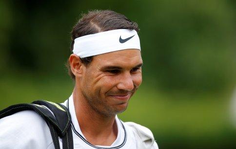 Tennis - Aspall Tennis Classic, London, Britain - June 28, 2017 Spain's Rafael Nadal during his match against Czech Republic's Tomas Berdych Action Images via Reuters/Andrew Couldridge