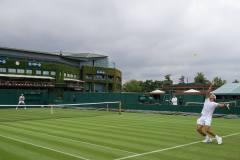 rafael nadal Wimbledon 2017 Wednesday practice photos