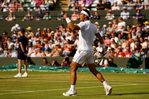 Rafael Nadal vs Gilles Muller 2017 Wimbledon fourth round photo (18)