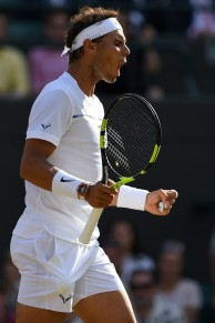 Rafael Nadal vs Gilles Muller 2017 Wimbledon fourth round photo (19)