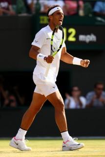 Rafael Nadal vs Gilles Muller 2017 Wimbledon fourth round photo (24)
