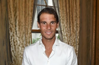 Professional tennis player Rafael Nadal attends the 2017 Lotte New York Palace Invitational at Lotte New York Palace on August 24, 2017 in New York City. (Aug. 23, 2017 - Source: Jamie McCarthy/Getty Images North America)