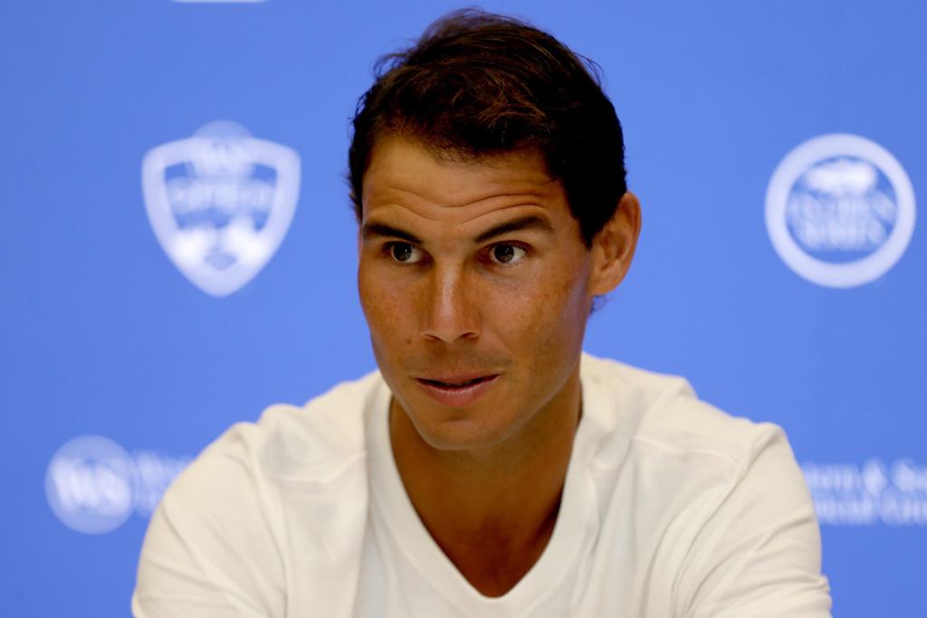 Rafael Nadal Image: Rafael Nadal Presser 2017 Cincinnati Masters Interview (4