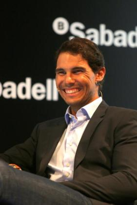 Rafael Nadal attends Banco Sabadell event in Barcelona 2017