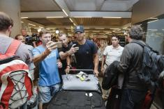 Rafael Nadal comes back home after winning US Open 2017 Mallorca (15)