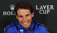 Rafael Nadal press conference 2017 Laver Cup